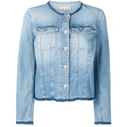 7 For All Mankind frayed denim jacket - Blue found on MODAPINS from FarFetch.com- UK for USD $346.02