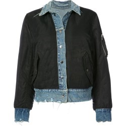 Amiri reversible denim bomber jacket - Blue found on MODAPINS from FarFetch.com - US for USD $1430.00