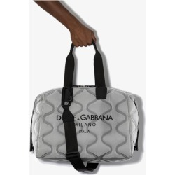 Dolce & Gabbana grey Palermo Tecnico quilted holdall found on Bargain Bro UK from Browns Fashion
