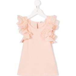 Chloé Kids ruffled top - Pink found on Bargain Bro UK from FarFetch.com- UK