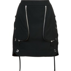 Barbara Bui lace up side mini skirt - Black found on MODAPINS from FarFetch.com - US for USD $948.00