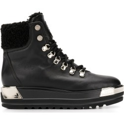 Baldinini platform lace-up boots - Black found on MODAPINS from FarFetch.com- UK for USD $832.05
