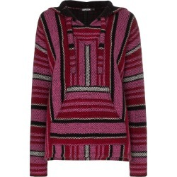Adaptation Baja stripe cashmere hoodie - Pink found on MODAPINS from FarFetch.com - US for USD $1798.00