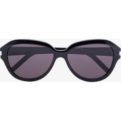 Saint Laurent Eyewear Womens Black Round Sunglasses found on Bargain Bro UK from Browns Fashion