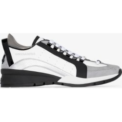 Dsquared2 Mens White 551 Panelled Leather Sneakers found on MODAPINS from Browns Fashion for USD $430.49