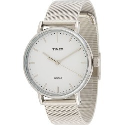 TIMEX Fairfield 37mm watch - Silver found on Bargain Bro UK from FarFetch.com- UK