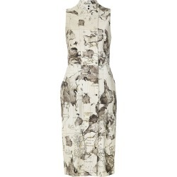 Andrea Marques maps print shift dress - Est Mapa Natural found on MODAPINS from FARFETCH.COM Australia for USD $361.22