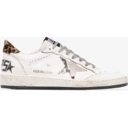 Golden Goose Womens White Ball Star Printed Sneakers found on Bargain Bro UK from Browns Fashion