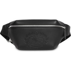 Burberry Medium Embossed Crest Leather Bum Bag - Black found on MODAPINS  from FarFetch.com 7a04bf1410f2a