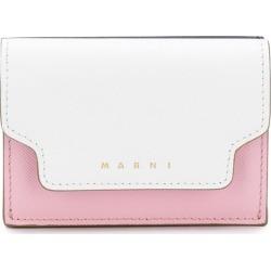 Marni colour block logo print tri-fold wallet found on MODAPINS from Eraldo for USD $403.36