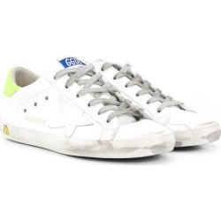 Golden Goose Kids TEEN Superstar low-top sneakers - White found on Bargain Bro UK from FarFetch.com- UK