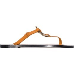 Atp Atelier Forna ring-embellished sandals - Brown found on MODAPINS from FARFETCH.COM Australia for USD $259.25