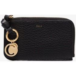 Chloé Womens Black Alphabet Leather Wallet found on Bargain Bro UK from Browns Fashion