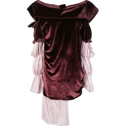 Almaz layered asymmetric puffy dress - Pink found on MODAPINS from FarFetch.com- UK for USD $744.42