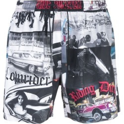 Adaptation drawstring printed shorts - Multicolour found on MODAPINS from FarFetch.com - US for USD $440.00