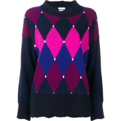 Ballantyne argyle jumper - Blue found on MODAPINS from FarFetch.com - US for USD $427.00