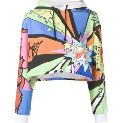 Amen Pop Art cropped hoodie - Black found on MODAPINS from FarFetch.com- UK for USD $406.45