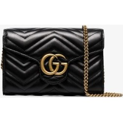 Gucci Black GG Marmont Matelassé Mini Bag found on MODAPINS from Browns Fashion US for USD $1323.00