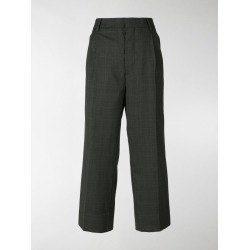 Miu Miu checked tailored trousers found on Bargain Bro India from stefania mode for $1050.00