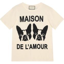 "Gucci ""Maison de l'Amour"" T-shirt with Bosco and Orso - White"