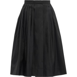 Prada high-waisted pleated skirt - Black found on MODAPINS from FarFetch.com - US for USD $950.00