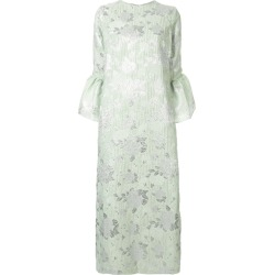Bambah Camelia floral embossed dress - Green found on MODAPINS from FarFetch.com - US for USD $475.00