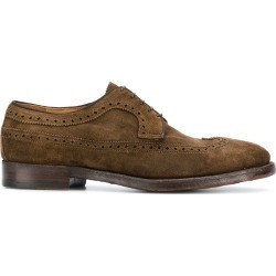 Alberto Fasciani classic suede brogues - Neutrals found on MODAPINS from FarFetch.com - US for USD $517.00