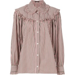 Alexa Chung striped button shirt - Pink found on MODAPINS from FarFetch.com - US for USD $182.00