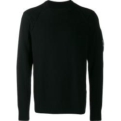 CP Company Lens crew neck jumper - Black found on Bargain Bro UK from FarFetch.com- UK