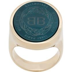 Balenciaga Chevaliere S ring - Gold found on Bargain Bro UK from FarFetch.com- UK