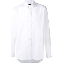 Ann Demeulemeester striped sleeves shirt - White found on MODAPINS from FarFetch.com- UK for USD $272.68