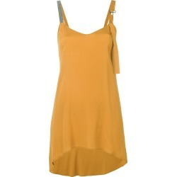 Fabiana Filippi curved hem oversized top - Yellow found on Bargain Bro India from FarFetch.com - US for $375.00