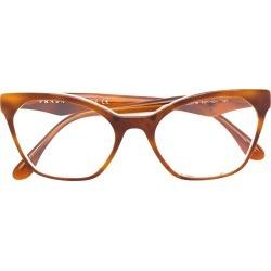 cat eye acetate glasses