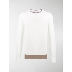 Brunello Cucinelli crew-neck knit jumper found on Bargain Bro UK from MODES GLOBAL