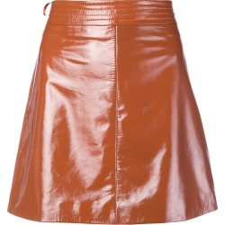 Arma patent A-line skirt - Orange found on MODAPINS from FarFetch.com - US for USD $266.00