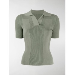 Jacquemus cutout polo top found on Bargain Bro UK from MODES GLOBAL