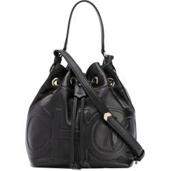 Jimmy Choo Juno Choo bucket bag - Black
