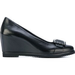 Baldinini jewelled buckle pumps - Black found on MODAPINS from FarFetch.com- UK for USD $474.00