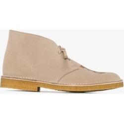 Palm Angels Mens Neutrals Neutral Suede Desert Boots found on Bargain Bro UK from Browns Fashion