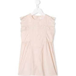 Chloé Kids embroidered dress - Pink found on Bargain Bro UK from FarFetch.com- UK