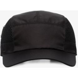 Prada Mens Black Technical Drawstring Baseball Cap found on Bargain Bro UK from Browns Fashion