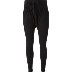 Bassike drop crotch track pants - Black found on MODAPINS from FARFETCH.COM Australia for USD $89.35