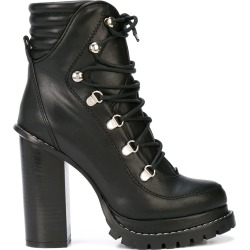 Barbara Bui lace-up boots - Black found on MODAPINS from FARFETCH.COM Australia for USD $839.58