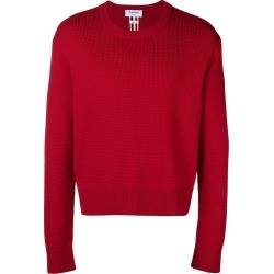 Thom Browne Center-Back Intarsia Boxy Pullover - Red found on Bargain Bro UK from FarFetch.com- UK