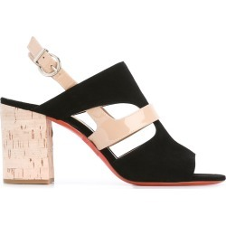 Barbara Bui cut-out detail sling-back sandals - Black found on MODAPINS from FARFETCH.COM Australia for USD $364.03