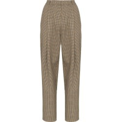 Magda Butrym Totness heritage-check trousers - Neutrals found on Bargain Bro Philippines from FarFetch.com - US for $618.00