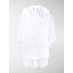 Alexander McQueen oversized bishop sleeve shirt found on Bargain Bro UK from MODES GLOBAL