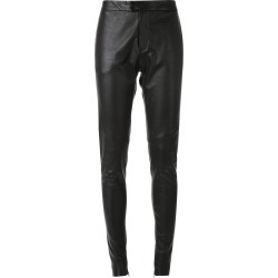 Bassike tapered leather trousers - Black found on MODAPINS from FarFetch.com- UK for USD $1583.94