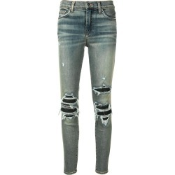 Amiri ripped detailed jeans - Blue found on MODAPINS from FARFETCH.COM Australia for USD $788.32