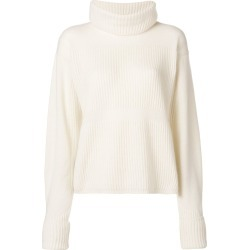 Andrea Ya'aqov ribbed turtle neck sweater - White found on MODAPINS from FarFetch.com- UK for USD $396.55